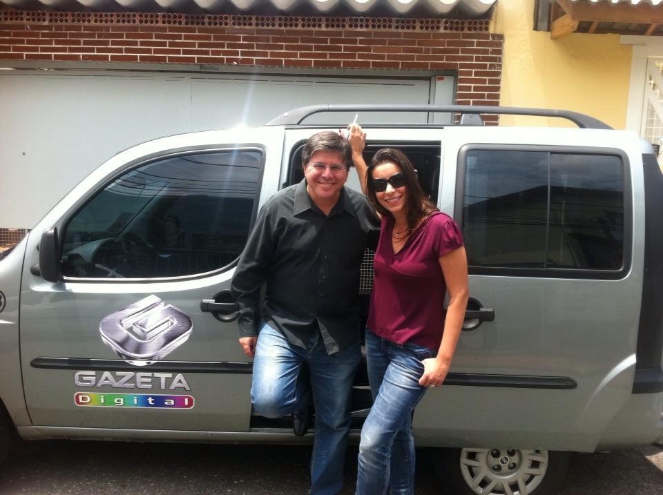 Airton Gontow e Sabrina Pires