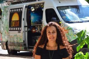 Cynthia Alário, idealizadora e coordenadora do projeto